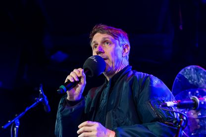 Gilles Peterson, DJ, animateur BBC pour le Worldwide Festival à Sète le 9 janvier 2019, à New-York.