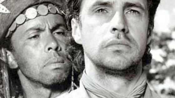 """Photo extraite du film """"O Cangaceiro"""" peuple décimé par Vargas"""