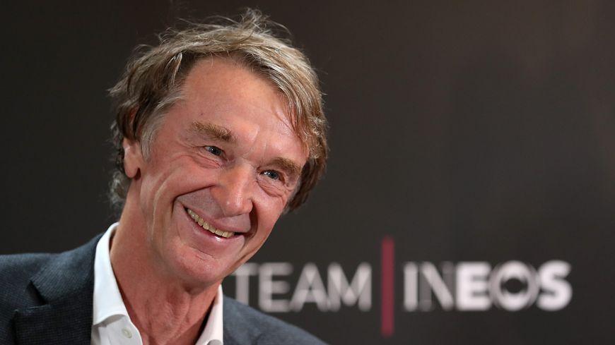 Jim Ratcliffe, nouveau propriétaire de l'OGCNice et patron de l'équipe cycliste Inéos