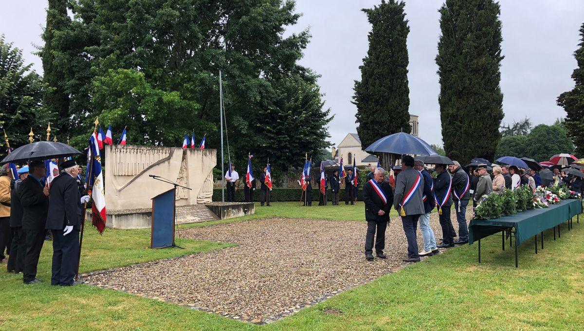 Dordogne : journée de commémoration pour les 75 ans du massacre de Mouleydier