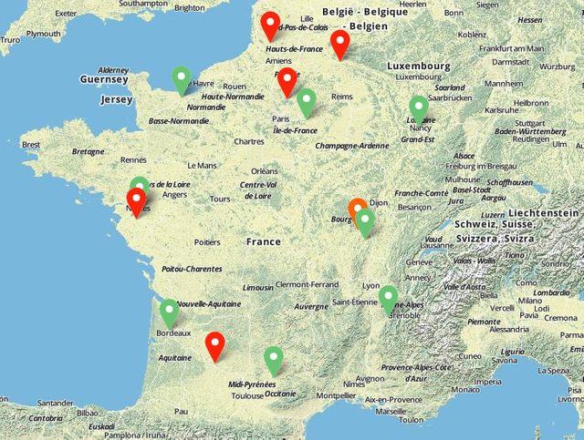 Sur le stop-pesticides.fr, une carte collaborative permet d'indiquer les communes qui pulvérisent ou non des produits chimiques.