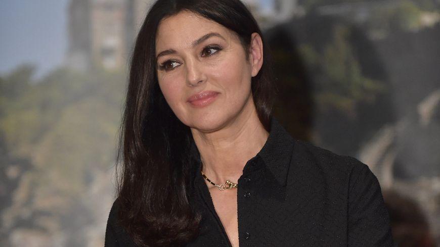 Monica Bellucci au Dinard Film Festival