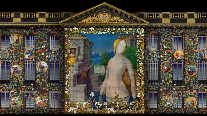 """11 scènes composent les """"Nuits Renaissance"""", le spectacle projeté sur le musée des beaux-arts de Tours jusqu'au 7 septembre"""