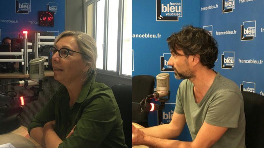 Isabelle Martin-Bridot et Yourik Golovine