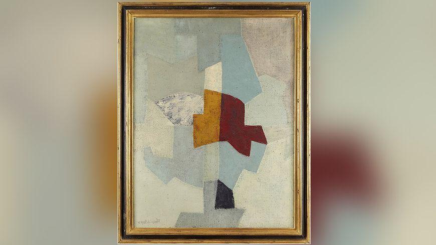 """Le tableau de Serge Poliakoff """"Gris, vert, bleu"""" a été adjugé à 390 000 euros"""