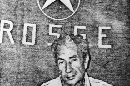 L'homme d'État et premier ministre italien Aldo Moro (1916 - 1978), après son enlèvement par des terroristes de gauche, la Brigade rouge, qui l'a ensuite assassiné
