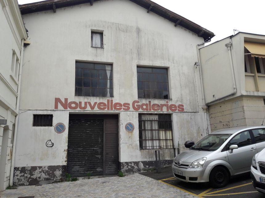 Le dépôt Cazaillas, situé à côté de la Régie des Eaux à Mont-de-Marsan