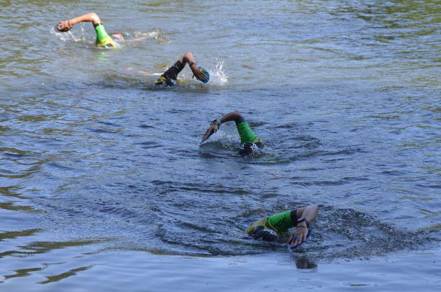 C'est sans doute les parties de natation qui auront le plus marqué les organismes