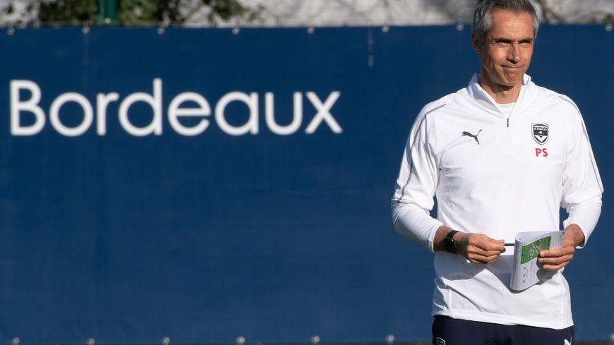 Paulo Sousa, entraîneur des Girondins.