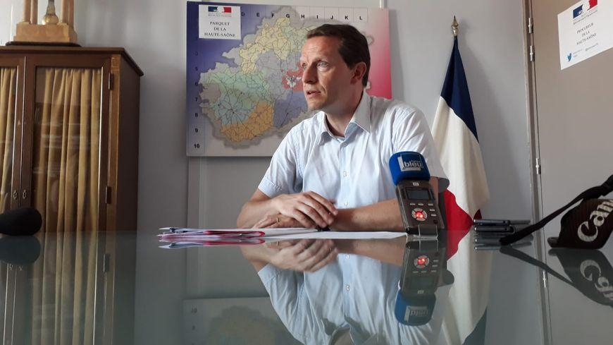 Emmanuel Dupic, Procureur de la République de Vesoul.