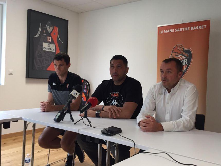 JP Batista revient au Mans Sarthe Basket, le club où il a déjà évolué de 2008 à 2014