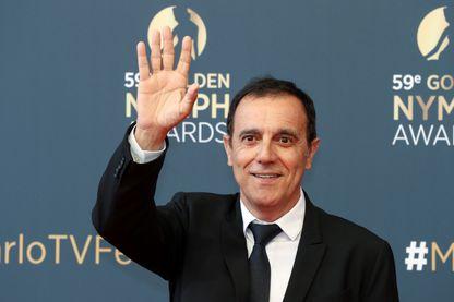 Thierry Beccaro, acteur et ex-présentateur du jeu télévisé Motus sur France 2 au 59ème festival de télévision de Monte-Carlo le 18 juin 2019 à Monaco.