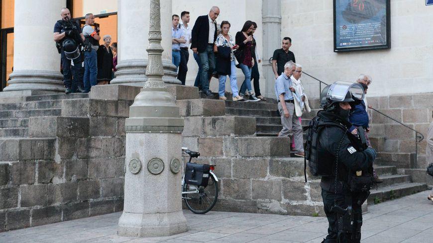 L'opéra Graslin de Nantes évacué mardi soir