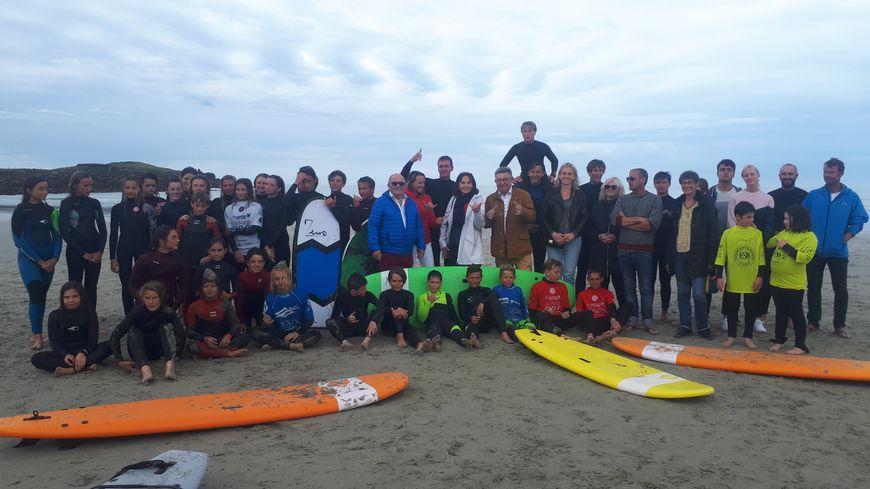 La concurrence sera rude pour décrocher les épreuves de surf