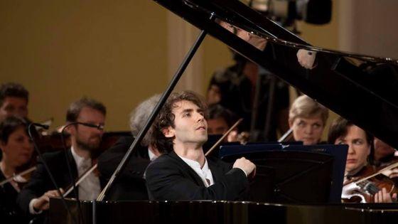 Alexandre Kantorow lors de la finale du Concours Tchaïkovski à Moscou