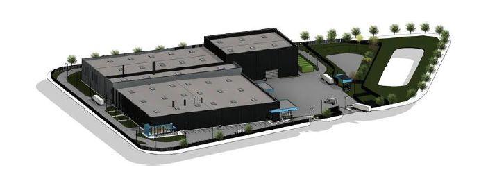 Trois bâtiments devraient s'installer à Suzannecourt.