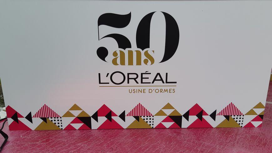 L'Oréal a fêté ce week end les 50 ans du site d'Ormes