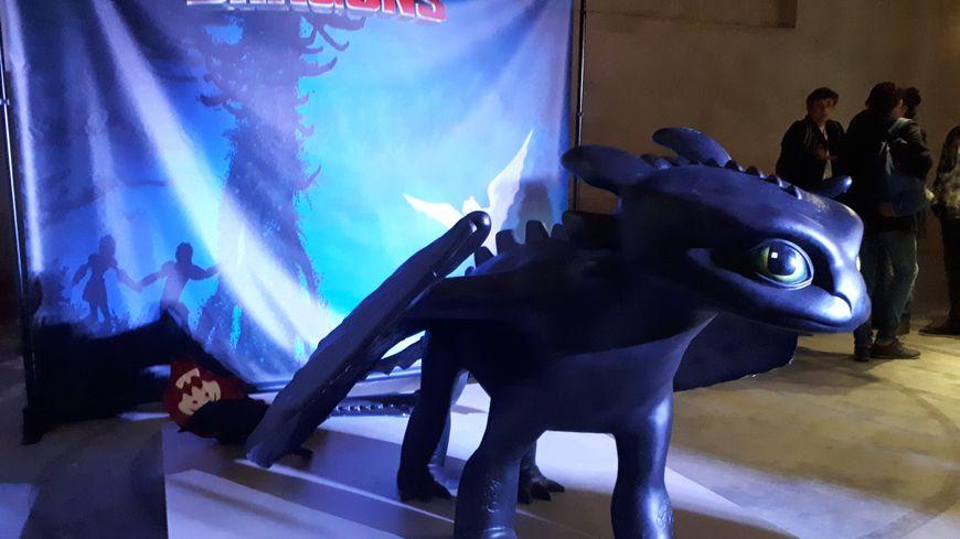 Au haras d'Annecy, les fans de Krokmou découvrent les coulisses de la trilogie Dragons