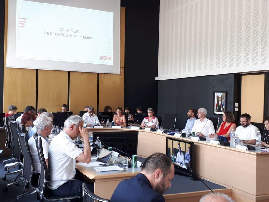 Le conseil municipal de Saint-Nazaire réunit en ce vendredi 28 juin 2019.