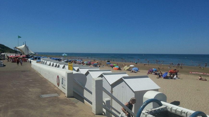Toutes les plages du Calvados sont concernées par l'interdiction de se baigner (ici, Villers-sur-Mer en août 2018).