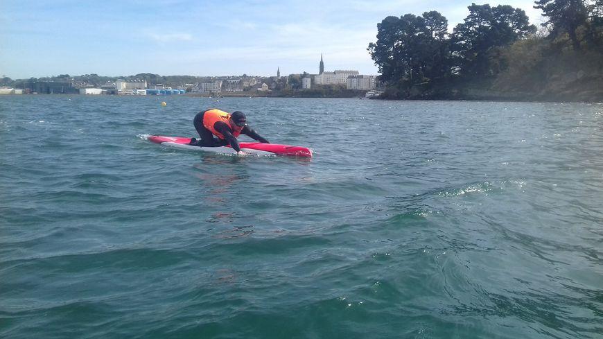 Enez raid paddle : 180 km entre Ouessant et Concarneau en paddleboard