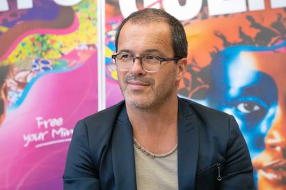Luc Barruet, directeur fondateur de Solidarité Sida et organisateur du festival Solidays le 5 juin 2019