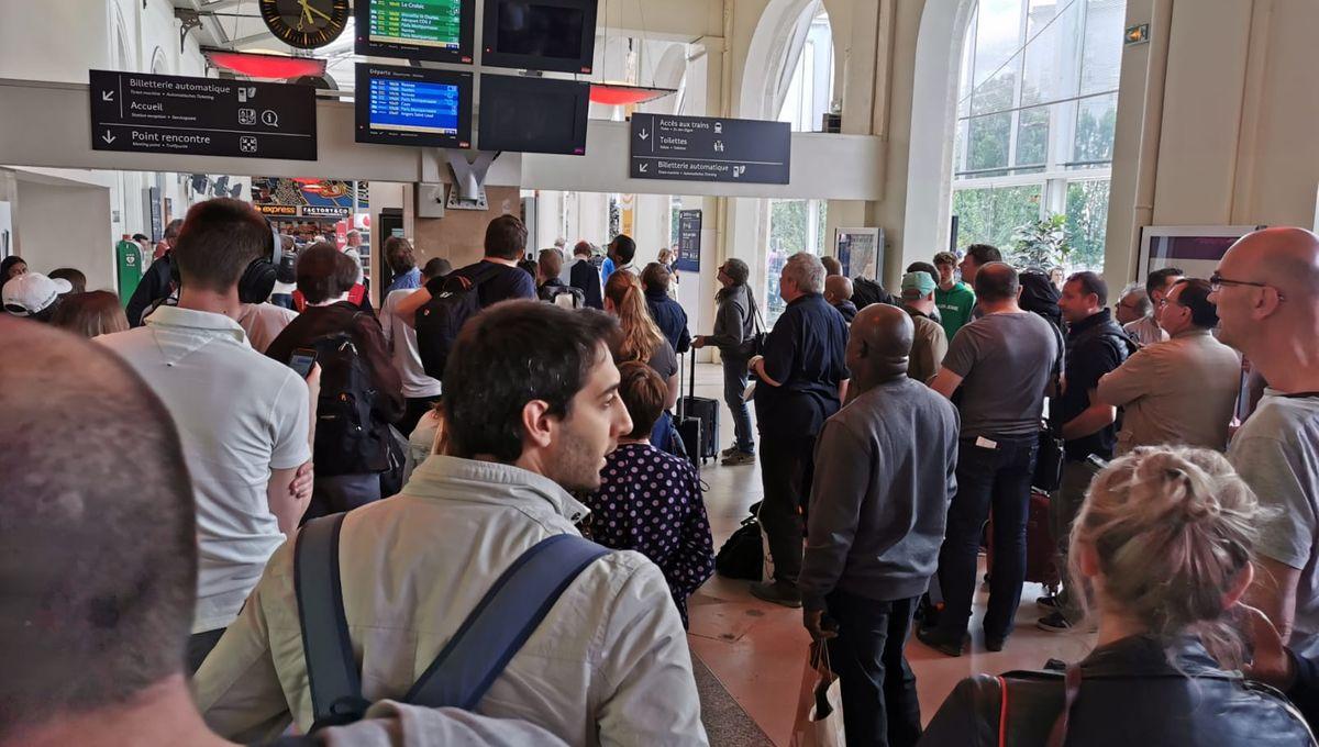 Trafic SNCF perturbé entre Le Mans et Paris pour retrouver une personne signalée sur les voies