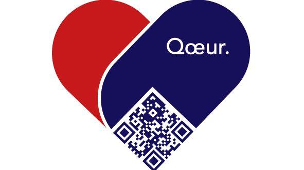 Logo bracelet connecté Qoeur