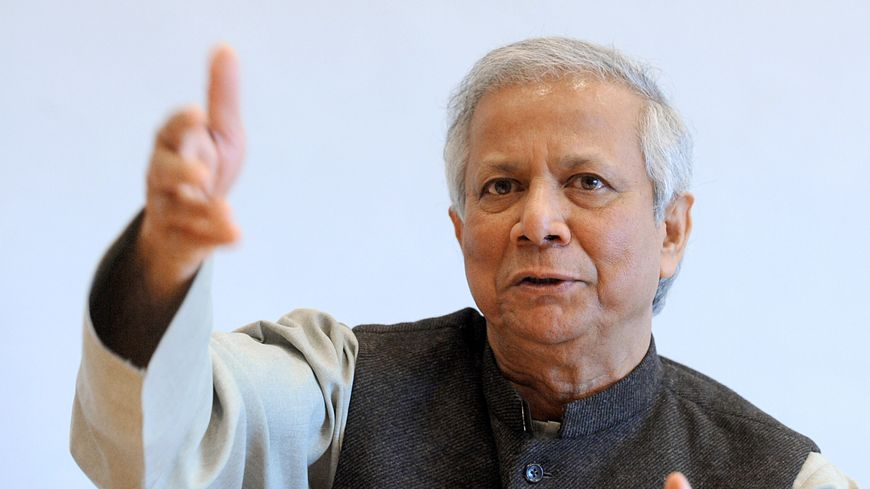 Muhammed Yunus, prix Nobel de la Paix 2006