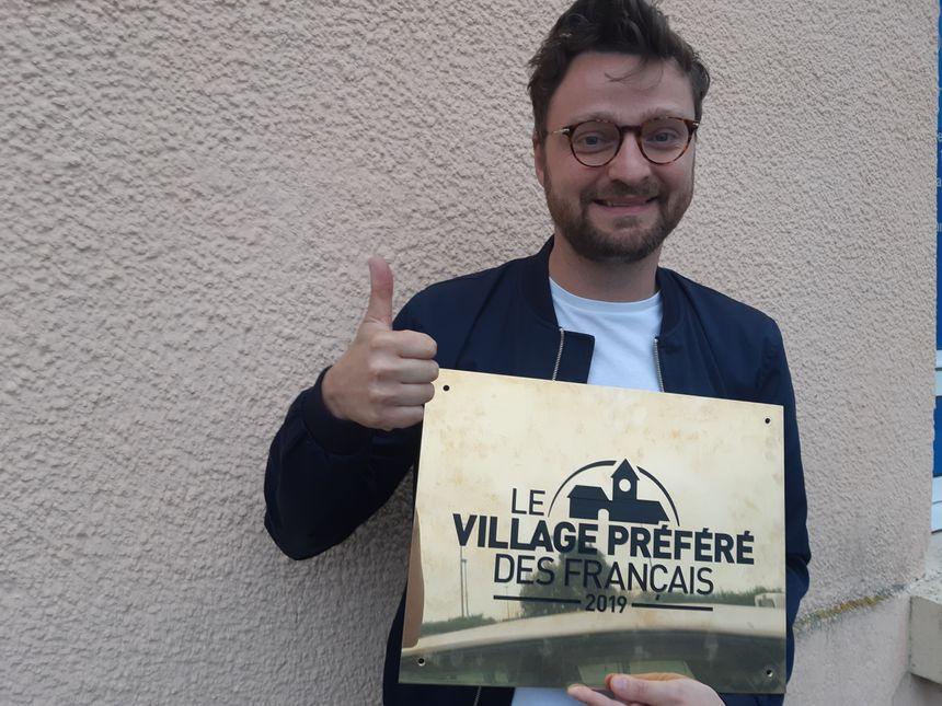 Yann Lepetit de l'association Agir pour le Val de Saire