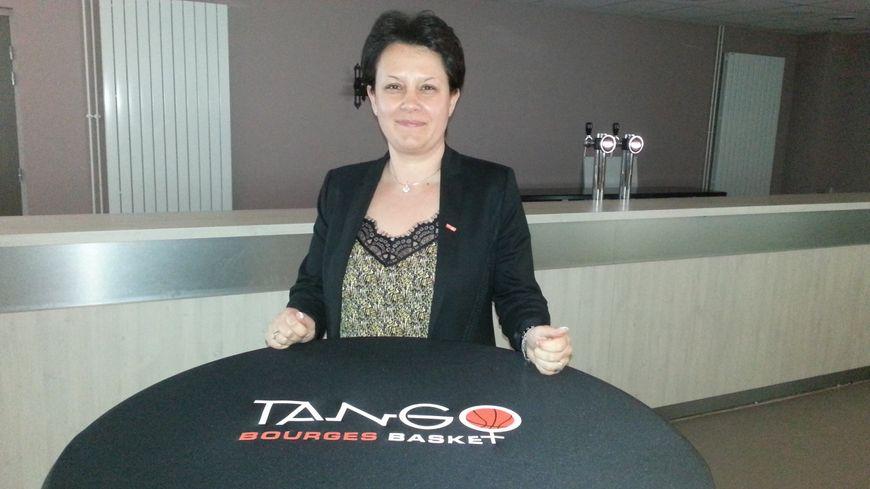 Agnès St-Ges, présidente des Tango de Bourges
