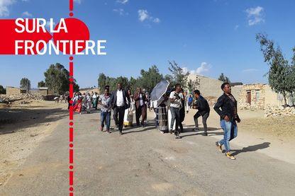 A Zalembessa, on passe aussi la frontière pour constater... la paix.