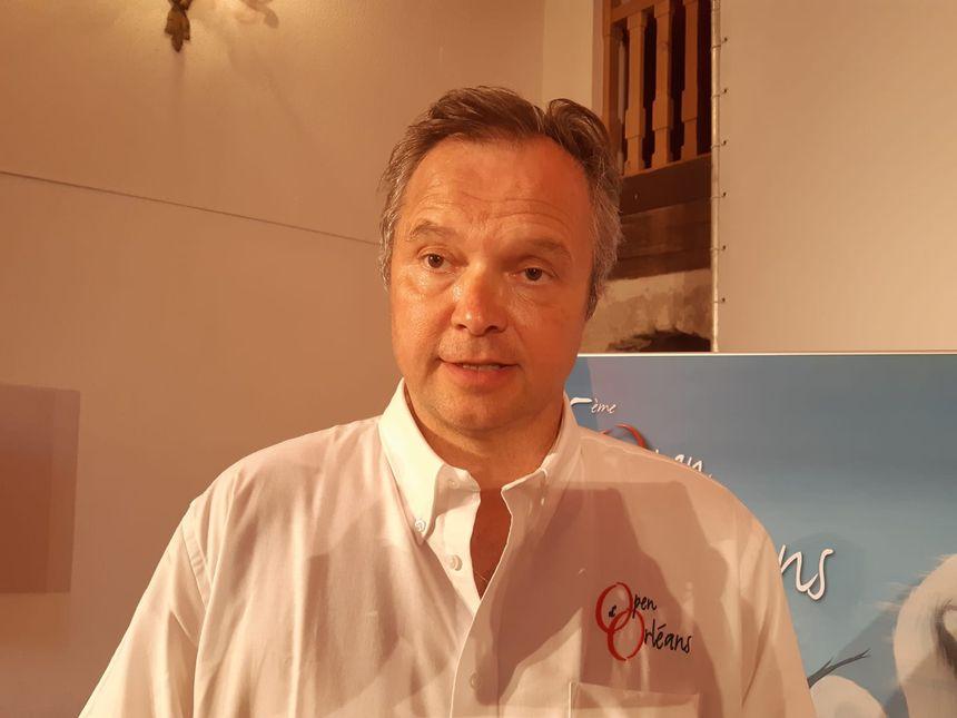Didier Gérard, directeur de l'open d'Orléans