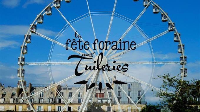 Affiche Fête des Tuileries