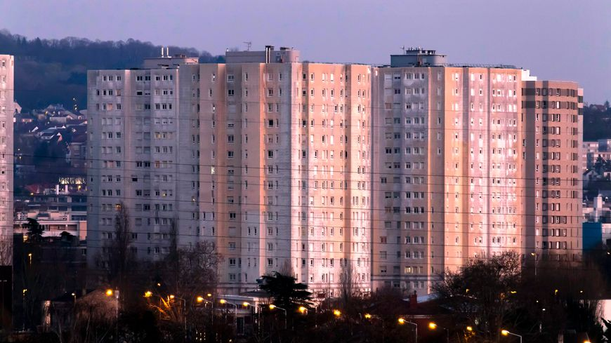 Logements HLM. Photo d'illustration