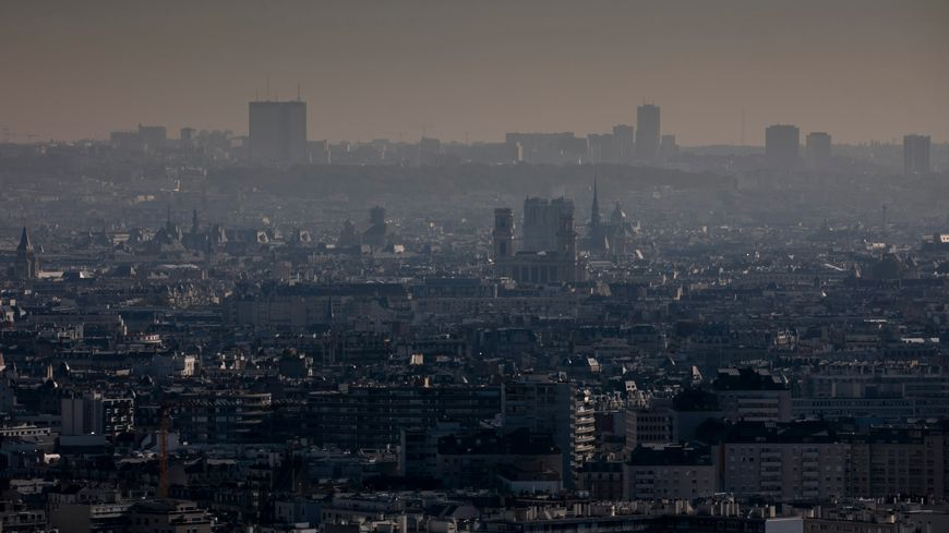 Pollution de l'air. Photo d'illustration