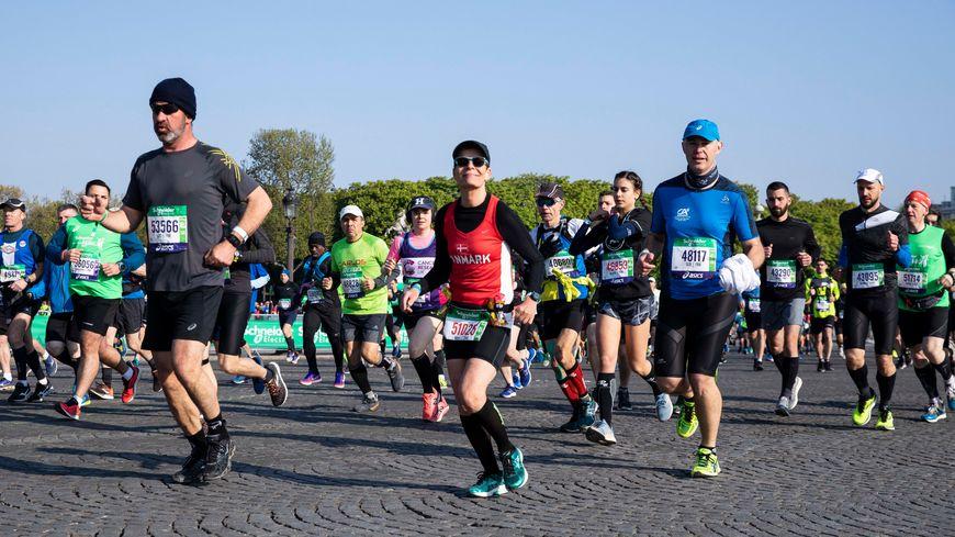 L'édition 2018 du marathon de Paris