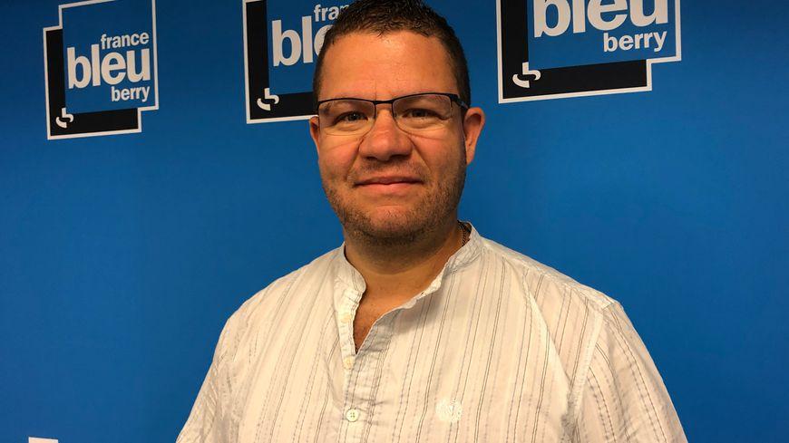David Lejard, secrétaire du bureau départemental de l'Indre du syndicat Alliance Police Nationale