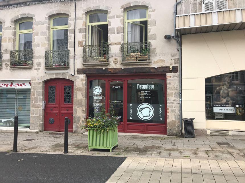 L'Esquisse a ouvert ses portes ce lundi 3 juin à Guéret
