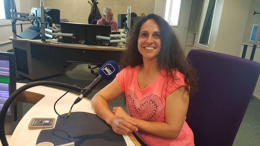 Yolaine Jeanthon de la Bergerie des Ber'Tommes dans le Calvados à Clécy