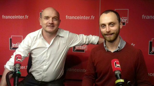 Fabrice GARDEL (à gauche) et Simon KESSLER