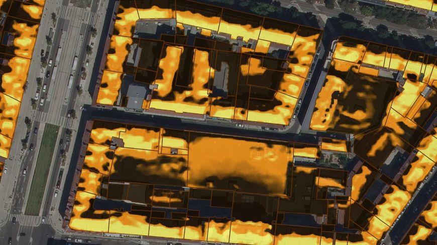 """""""Métrosoleil"""" permet de calculer rue par rue, maison par maison, le potentiel solaire de votre toit."""