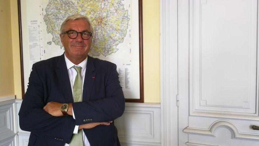 François Sauvadet, président du Conseil départemental