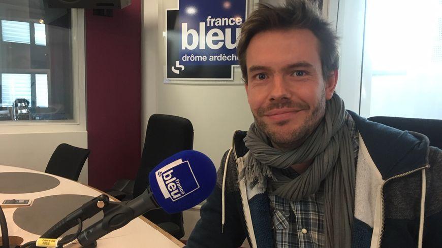 """Christophe Migliara, cofondateur de l'association Bok et éditeur du périodique """"Le Bokal""""."""