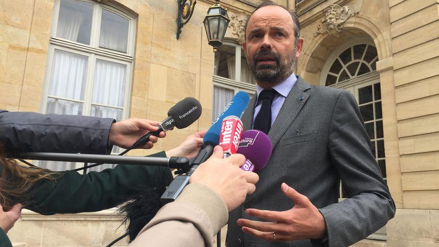 Edouard Philippe reçoit son homologue russe Dimitri Medvedev au Havre ce lundi