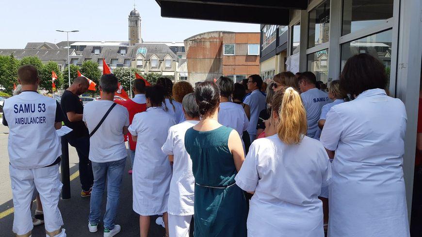 mobilisation du personnel soignant au CH de Laval