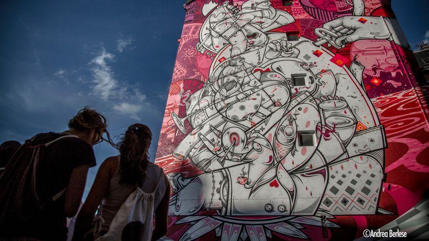 Le Street Art Fest, cinquième édition, a lieu du 31 mai au 30 juin.