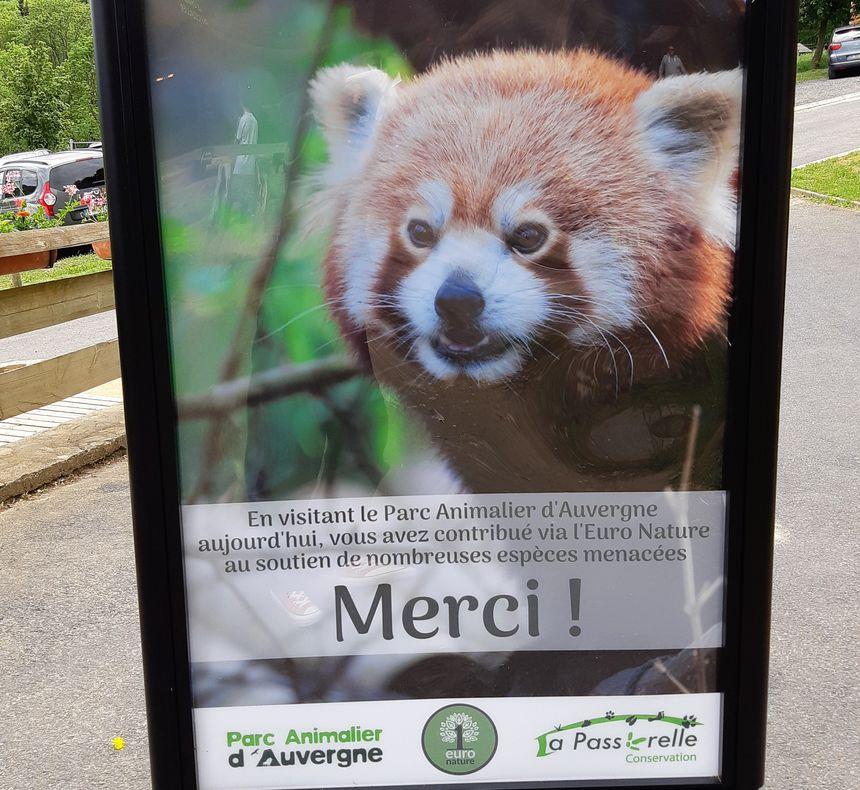le Parc animalier soutient les espèces menacées