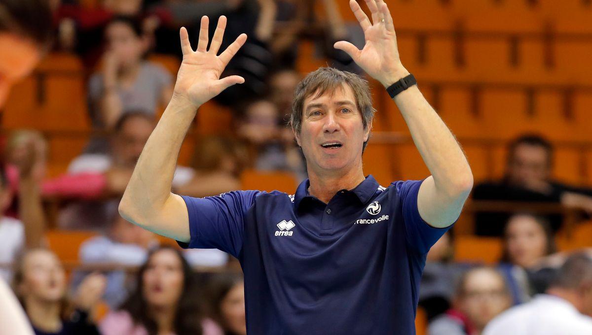 L'équipe de France de Volley Ball à Cannes pour une compétition internationale