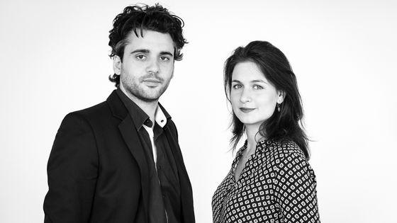 Reinoud van Mechelen et Anna Besson